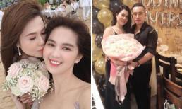 Chị gái mở tiệc kỷ niệm một năm ngày cưới, Ngọc Trinh lại vắng mặt