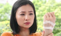 Dàn sao Việc chia buồn khi bố Diệu Hương 'Hoa hồng trên ngực trái' đột ngột qua đời