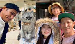 'Nhạt' như Huy Khánh, đi du lịch Hàn Quốc cùng vợ con nhưng chỉ đăng ảnh một mình