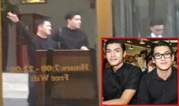 Im ỉm một thời gian, Quang Đại và Thiên Minh lại bị bắt gặp cùng đi ra từ khách sạn