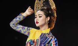 Á hậu Tường San quyền lực trong hai bộ quốc phục thêu rồng đính phụng tại Miss International