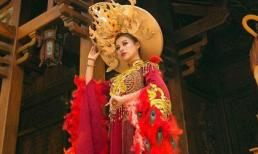 NTK Trần Tâm Tâm thổi hồn văn hóa hoàng bào, phụng hoàng vào bộ sưu tập áo dài