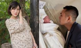Hot girl Tú Linh MU hạ sinh con thứ hai, nặng 3,9 kg