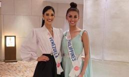 Phiên bản Hoàng Thùy và Lâm Khánh Chi tại đấu trường Hoa hậu Quốc tế 2019 đọ sắc khiến fan cực thích thú