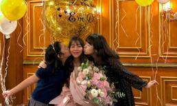 MC Diệp Chi đón sinh nhật bên con gái, vắng bóng chồng