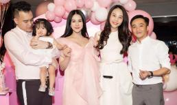 Diệp Lâm Anh vừa sinh con trai được một ngày đã đến mừng sinh nhật con gái, bạn thân tiết lộ tên quý tử
