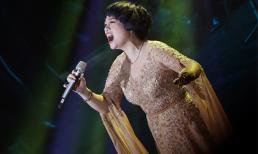 Ngọc Khuê hát như 'rút hết ruột gan' trong liveshow của Nguyễn Vĩnh Tiến