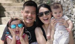 Ngất ngây với nhan sắc tuyệt phẩm của gia đình 'Mỹ nhân đẹp nhất Philippines'