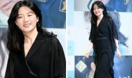 'Nàng Dae Jang Geum' Lee Young Ae đẹp thanh lịch trong buổi họp báo phim mới
