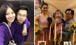 Cùng vợ tổ chức sinh nhật cho con, chồng 'gái quê' Lê Phương bị soi ngày càng xuống sắc