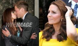 Lộ bức ảnh Hoàng tử William từng thân mật với cô gái lạ khiến Kate ghen nổ đom đóm mắt