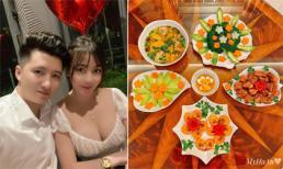 Làm dâu gia đình giàu có, giảng viên hot girl Âu Hà My trổ tài nấu món ngon lấy lòng cả gia đình chồng