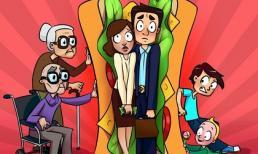 'Thế hệ sandwich' là gì? Cách đối phó khi phải chăm sóc cho cả 2 thế hệ trong 1 gia đình