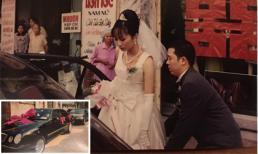 Loạt ảnh đám cưới hiếm hoi và độc của NTK Đức Hùng năm 1997: Rước dâu bằng xế hộp xịn