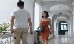 Hoa hồng trên ngực trái: Khang nổi máu ghen khi thấy San được trai đẹp chở đến công ty