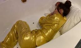Fan 'đau lòng' vì Lan Ngọc miệt mài quay MV phải ngủ trong bồn tắm, quên cả việc giọng hát thảm hoạ sắp trình làng