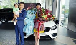 Sau thời gian 'cày cuốc', vợ chồng Lê Khánh tậu xe mới giá 2,8 tỷ đồng