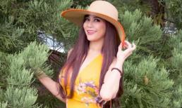 Hình ảnh xinh đẹp hạnh phúc của Hoa hậu Nhân Ái – Á hậu 1 Thien Sarah Le