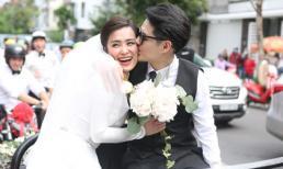 Clip: Ông Cao Thắng ngọt ngào hôn Đông Nhi trong ngày hạnh phúc