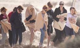 Angelina Jolie đưa các con đi chơi đảo, ảnh đời thường mà đẹp lung linh như cảnh phim