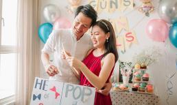 Vợ chồng Quang Tuấn - Linh Phi công bố giới tính em bé sắp chào đời