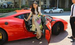 Ca nữ 'từng bị chém gần đứt lìa chân' được đưa đón bằng siêu xe khi dự sự kiện ở Trung Quốc