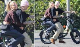Justin Bieber và bà xã Hailey 'gây bão' vì đạp xe, ôm eo như ngôn tình giữa tin đồn ly hôn