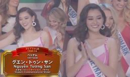 Tường San trình diễn bikini hồng nóng bỏng tại Chung kết Hoa hậu Quốc tế 2019