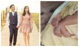 Bà xã Đinh Tiến Đạt lần đầu đăng ảnh con sau 20 ngày sinh