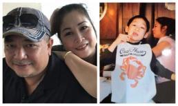 Tài tử Lê Tuấn Anh chúc mừng sinh nhật Trê Phi bằng bài thơ xúc động và hình ảnh hiếm hoi khi bé của con trai