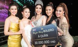Băng Khuê đoạt giải Á quân Duyên dáng Bolero 2019