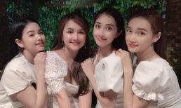 Nhã Phương đi chơi cùng chị em: Nhan sắc ai cũng xinh đẹp đến mê người
