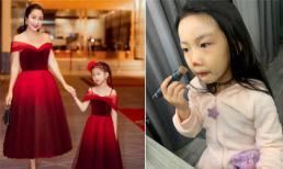 Cho con gái thỏa sức làm beauty blogger, Ốc Thanh Vân bị fan nhắc nhở vì lo 'hỏng da bé'