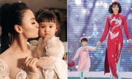 Con gái sớm bộc lộ tố chất và máu nghệ thuật, Hồng Quế định hướng như thế nào?