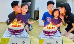 Sinh nhật giản dị và ấm áp của con gái út siêu mẫu Hạ Vy