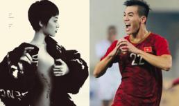 Bảo Anh 'chơi lớn' tung ảnh nude mừng tuyển Việt Nam lên ngôi đầu bảng G vòng loại World Cup 2022