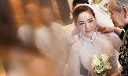 Không còn là 'công chúa bong bóng', Bảo Thy hóa nữ thần với nhan sắc cực phẩm trong hôn lễ của mình