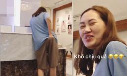 Sợ vợ làm đẹp xong sẽ có người ve vãn, Tùng Min 'dìm hàng' Pông Chuẩn khiến sao Việt bái phục