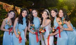Loạt mỹ nhân dự lễ cưới của top 5 Hoa hậu Hoàn vũ Việt Nam 2017 Bùi Thanh Hằng