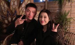 Ca sĩ gốc Hàn Han Sara chụp ảnh cùng Dae Sung (Big Bang)