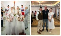 Ảnh cưới gửi truyền thông cực lung linh, nhan sắc vợ chồng Bảo Thy qua ống kính bạn bè lại thế này