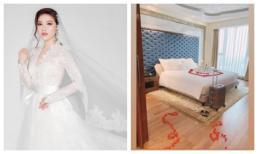 Siết chặt an ninh trong hôn lễ nhưng cô dâu Bảo Thy lại thoải mái khoe phòng cưới bên trong khách sạn 6 sao sang chảnh