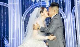 Sau hôn lễ siết chặt an ninh, Bảo Thy đã chịu tung hình ảnh trong tiệc cưới lung linh