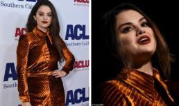 Selena Gomez bỗng già chát vì kiểu trang điểm và cách lên đồ như bà thím
