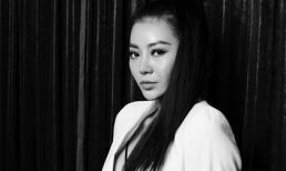 Diễn viên Thanh Hương táo bạo lộ nội y trong bộ ảnh đen trắng