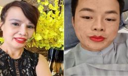 Cô dâu 62 tuổi ở Cao Bằng lại khiến MXH 'dậy sóng' khi livestream xăm môi cùng chồng trẻ
