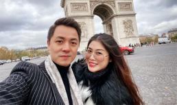 Kỷ niệm 6 năm ngày cưới, vợ chồng Đăng Khôi 'trốn con' đi du lịch Pháp