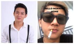 Hoài Lâm khiến người hâm mộ cực sốc vì hình ảnh phì phèo thuốc lá, xuống sắc đầu tóc bù xù