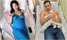 Chia sẻ đầu tiên của Phương Mai sau sinh: 'Đợi phổng phao lên tí xem có nét nào của tui không'