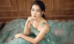 Thanh Hương diện đầm 2 dây xòe, dịu dàng và ngọt ngào đến lạ